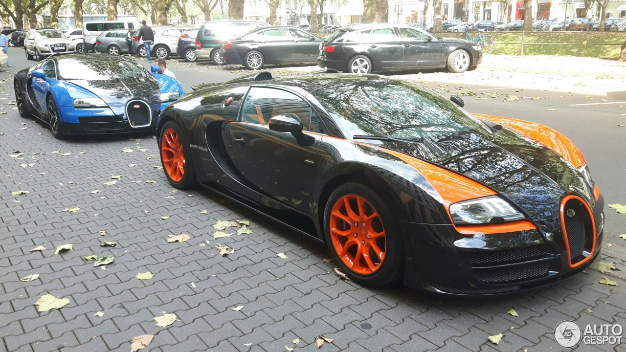 bugatti veyron 16 4 grand sport vitesse world record car edition 30 september 2016 autogespot. Black Bedroom Furniture Sets. Home Design Ideas