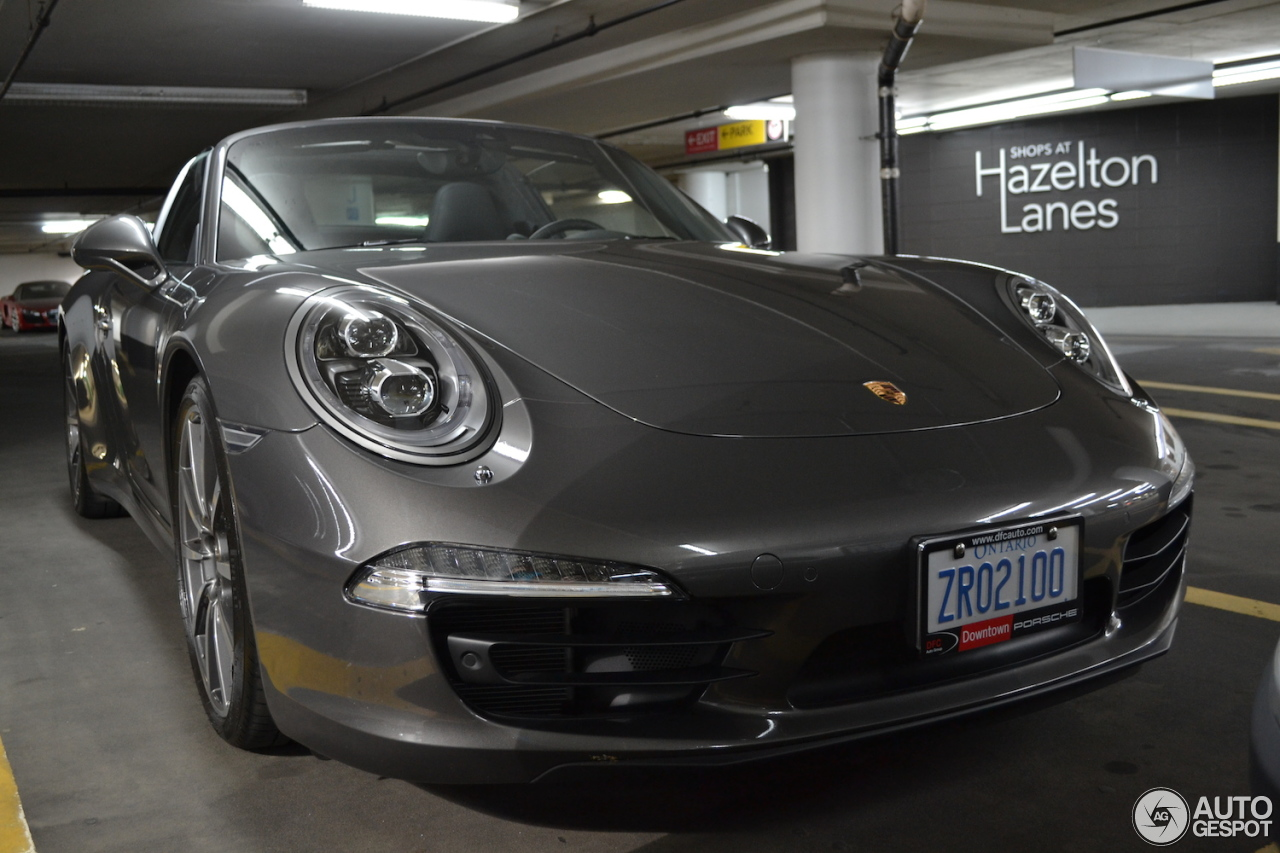 porsche 991 targa 4s 2 october 2016 autogespot. Black Bedroom Furniture Sets. Home Design Ideas