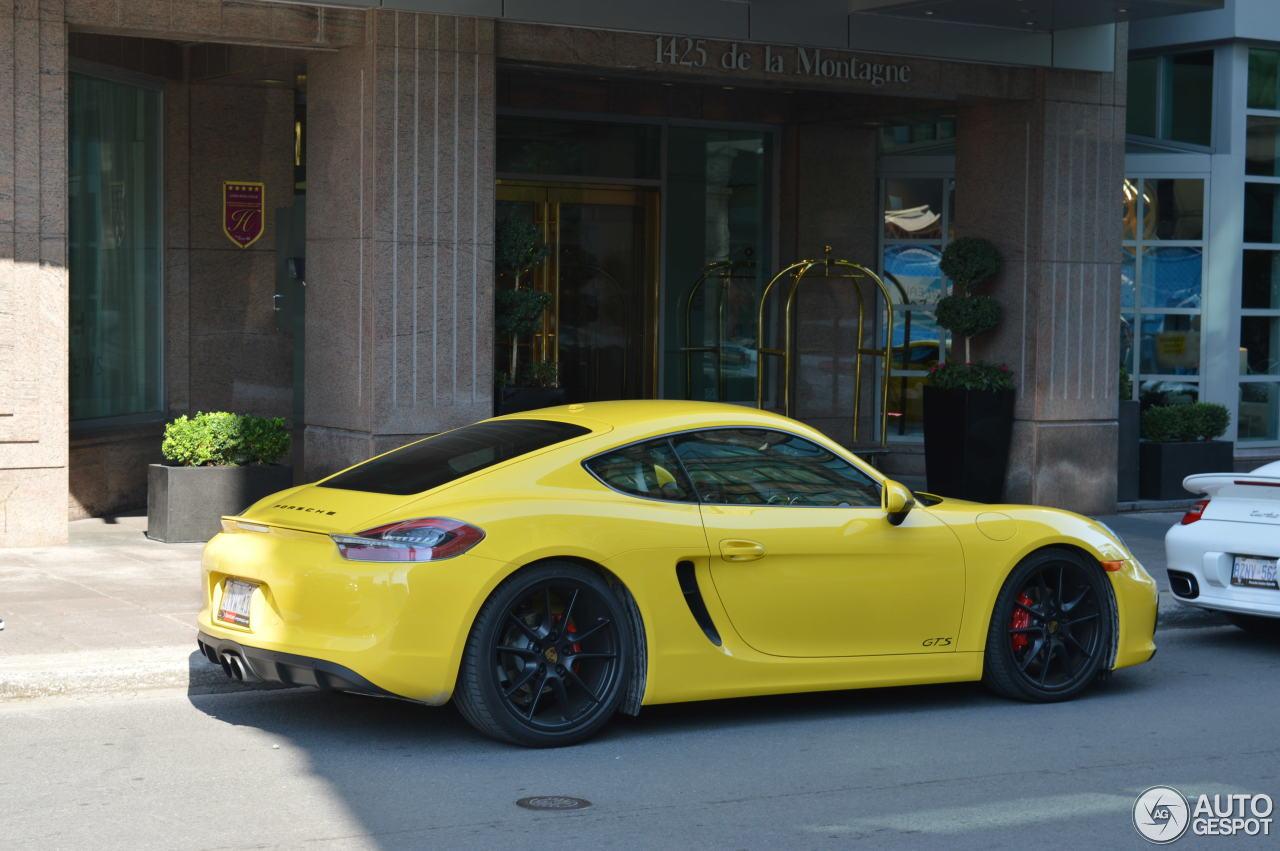 Porsche 981 Cayman Gts 3 October 2016 Autogespot