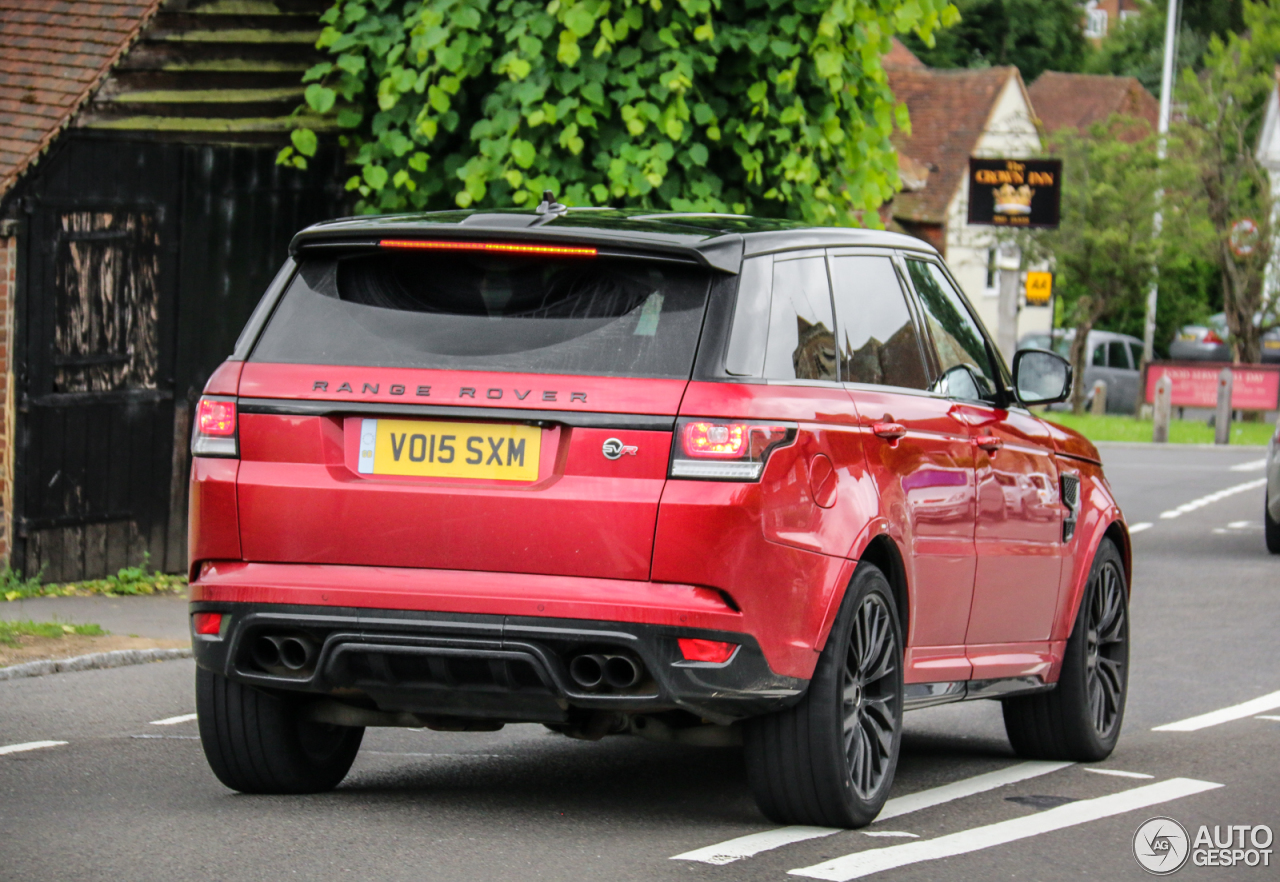 land rover range rover sport svr 6 october 2016 autogespot. Black Bedroom Furniture Sets. Home Design Ideas