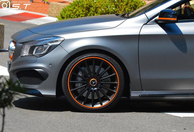 Mercedes-Benz CLA 45 AMG OrangeArt Edition C117