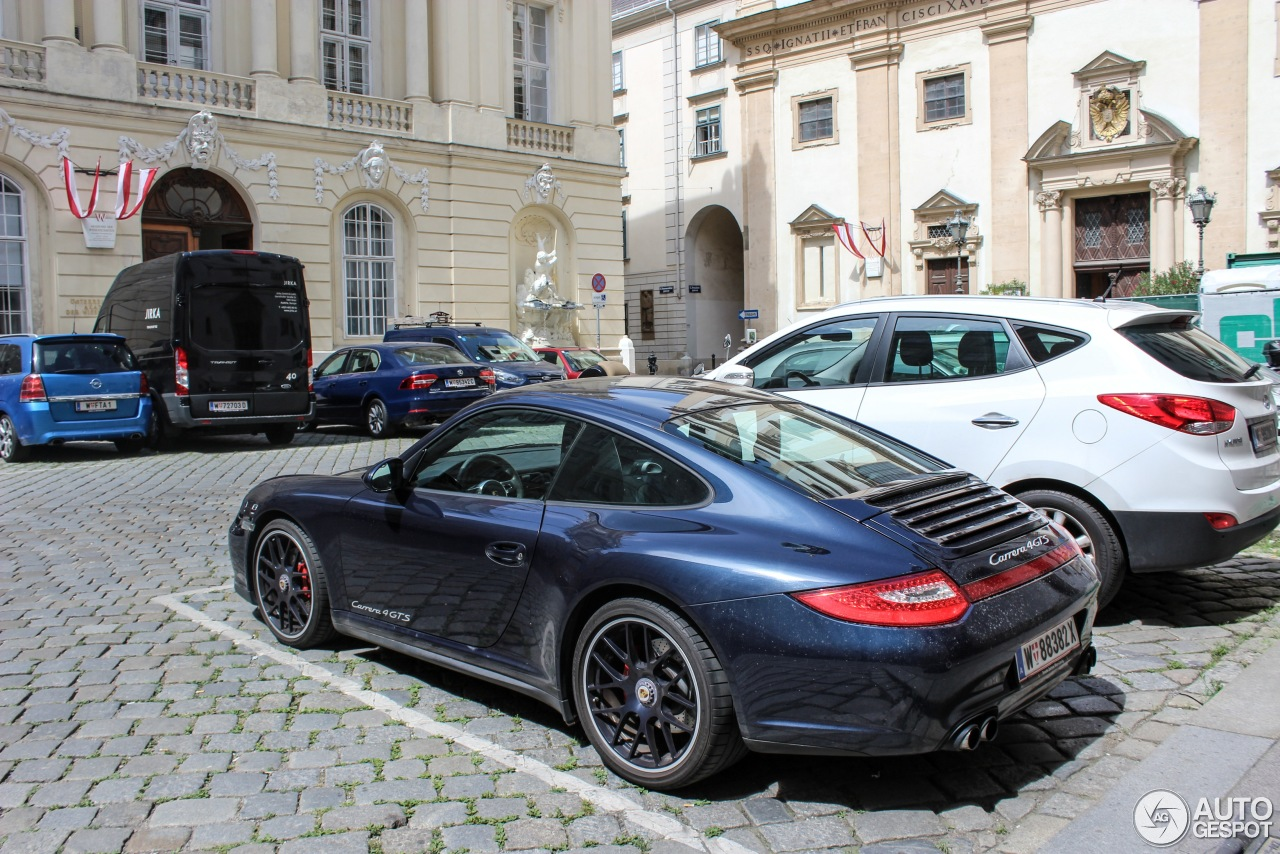 porsche 997 carrera 4 gts 8 october 2016 autogespot. Black Bedroom Furniture Sets. Home Design Ideas