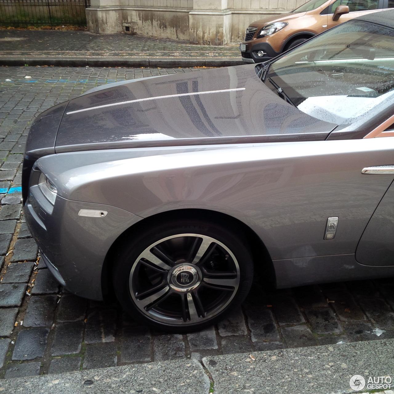 2016 Rolls Royce Wraith Camshaft: Rolls-Royce Wraith