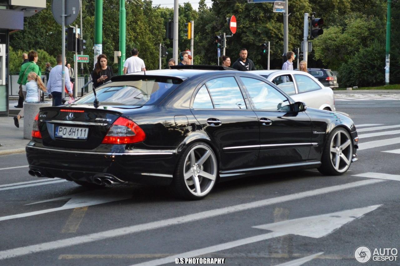 Mercedes benz e 55 amg 15 october 2016 autogespot for Mercedes benz amg 55