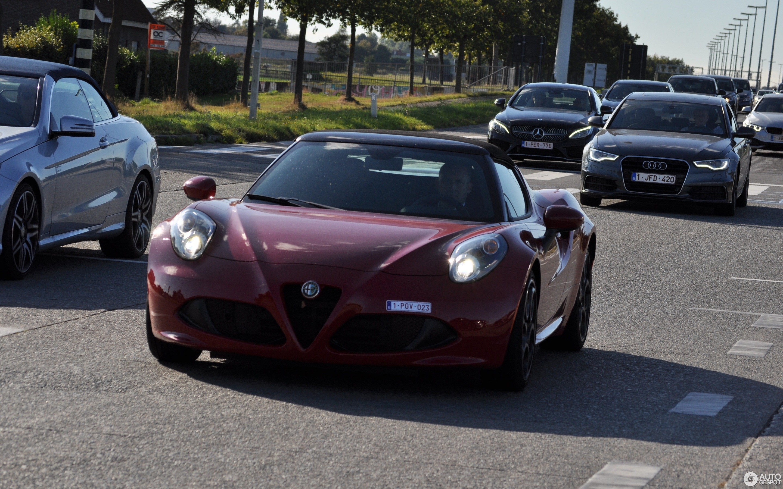 Alfa Romeo 4C Spider 16 October 2016 Autogespot