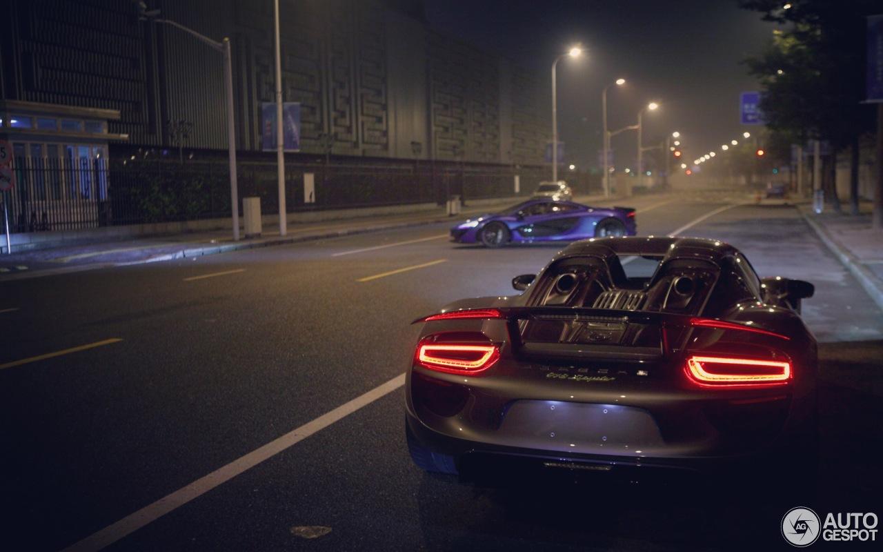 porsche 918 spyder 18 oktober 2016 autogespot. Black Bedroom Furniture Sets. Home Design Ideas