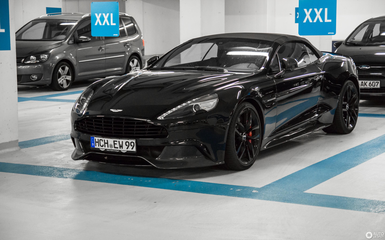Aston Martin Vanquish Volante Carbon Black Edition October - Black aston martin