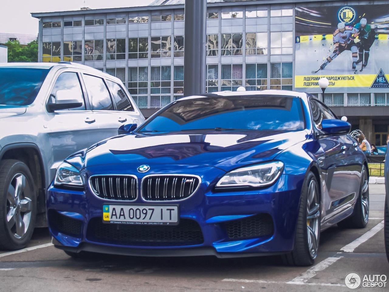 BMW M6 F06 Gran Coupe 2015