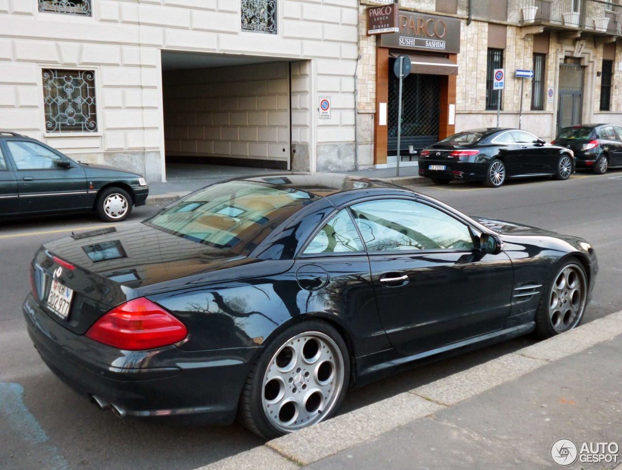 Mercedes benz sl 600 r230 22 october 2016 autogespot for Mercedes benz sl r230