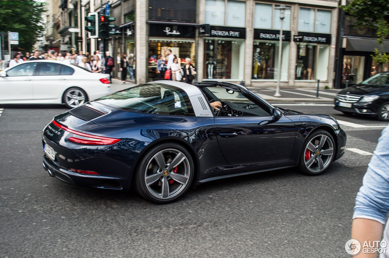 porsche 991 targa 4s mkii 3 november 2016 autogespot. Black Bedroom Furniture Sets. Home Design Ideas