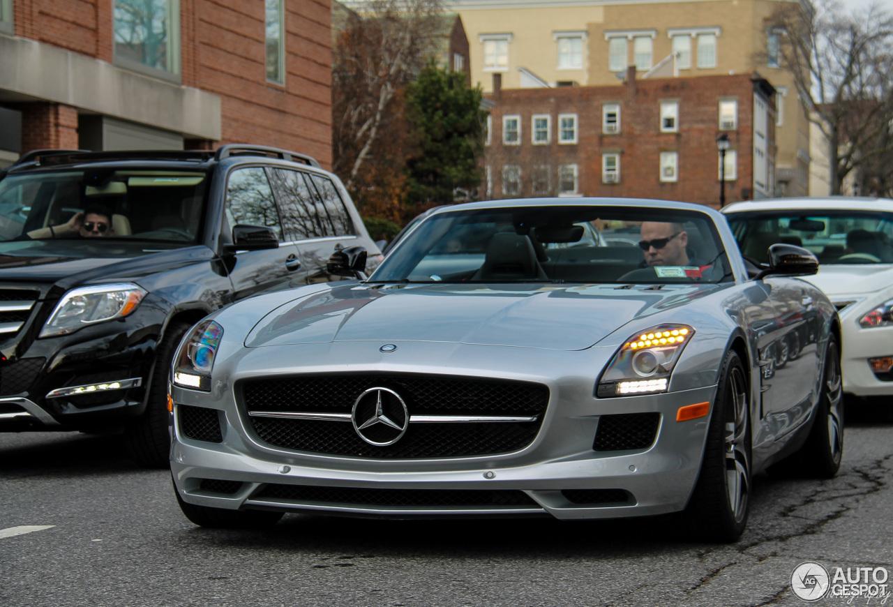 Mercedes Benz Sls Amg Gt Roadster 4 November 2016
