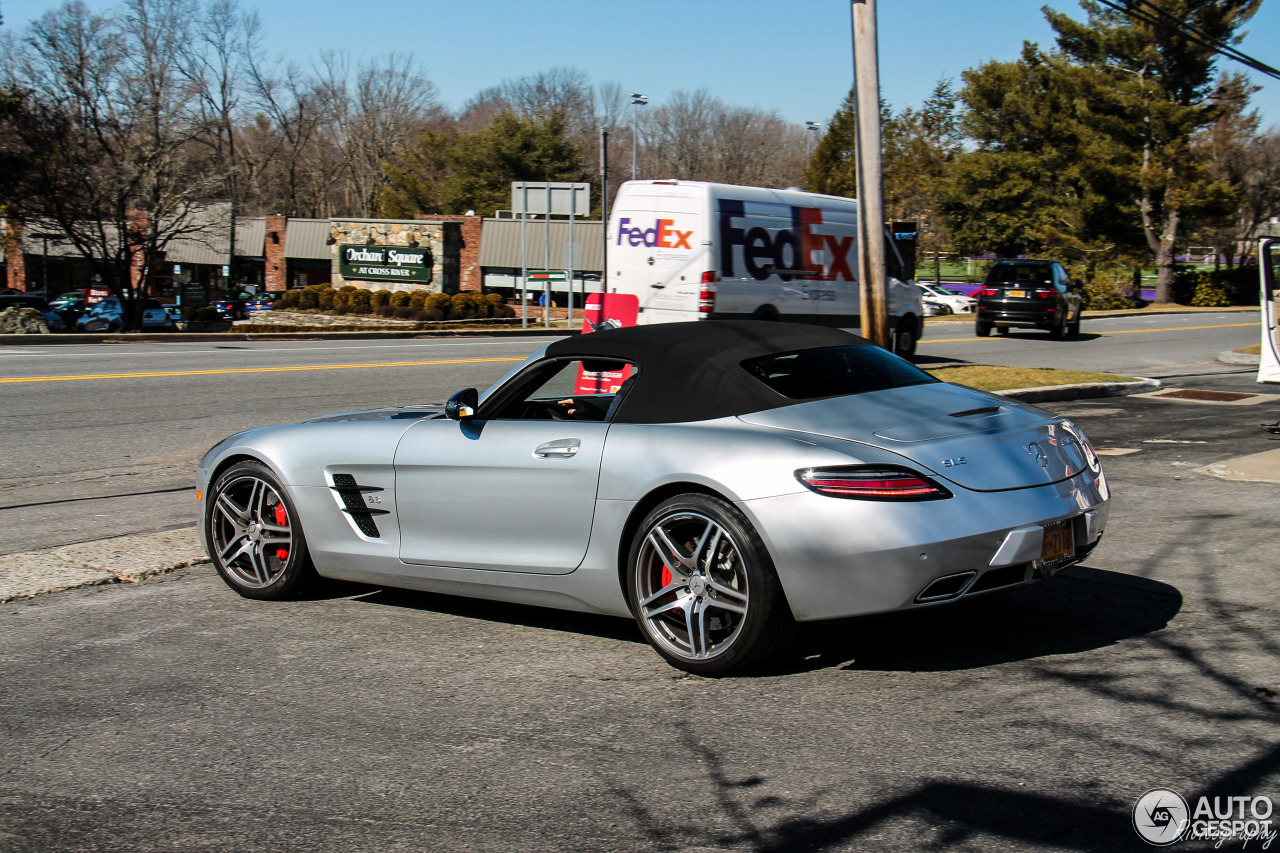 Mercedes Benz Sls Amg Gt Roadster 4 November 2016