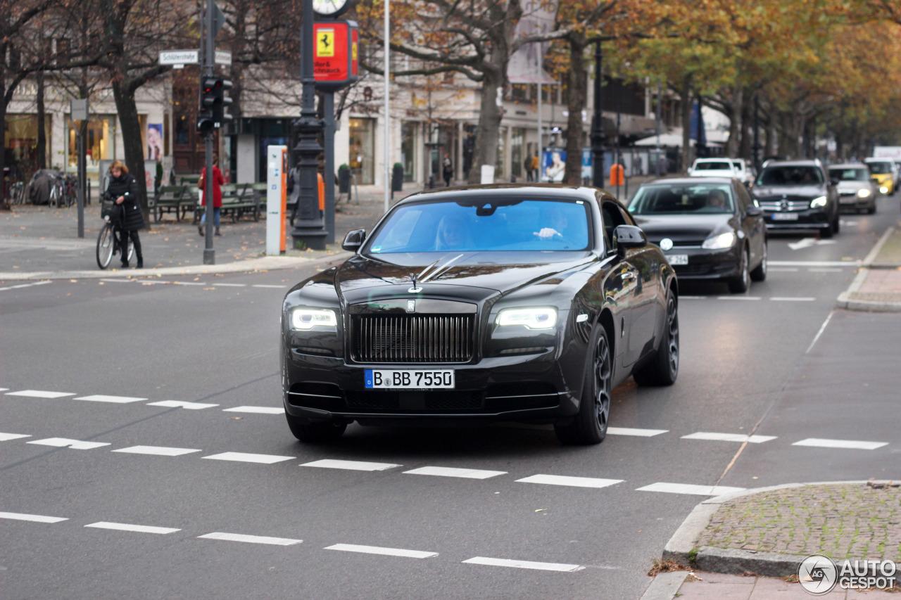 Rolls-Royce Wraith Black Badge - 5 November 2016 - Autogespot