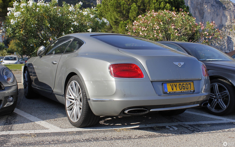 Bentley Continental GT Speed 2012 7 November 2016 Autogespot