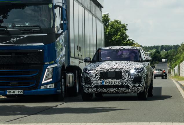 Jaguar F-Pace Hybrid 2018 Mule