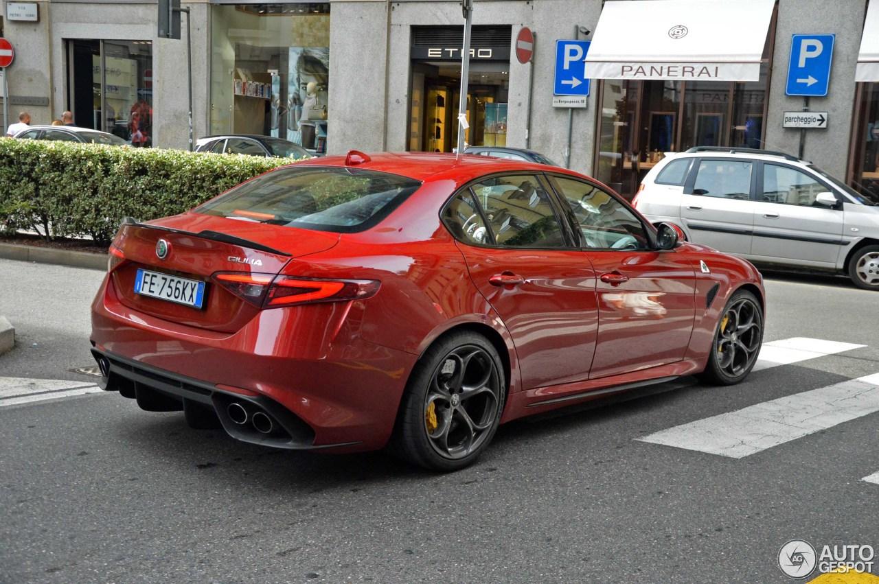 Alfa Romeo Giulia Quadrifoglio 14 November 2016 Autogespot