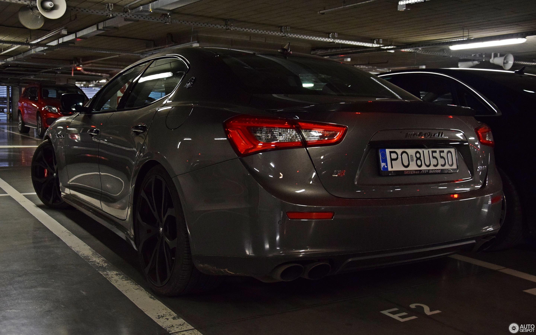 Maserati Ghibli 2013 Novitec Tridente