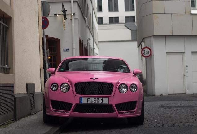 Bentley Mansory Continental Vitesse Rosé