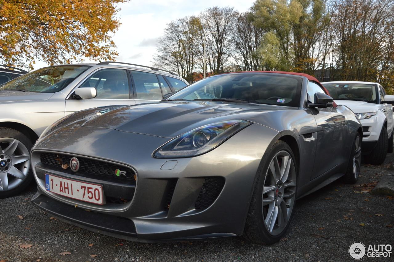 Jaguar F-TYPE R AWD Convertible - 19 November 2016 ...
