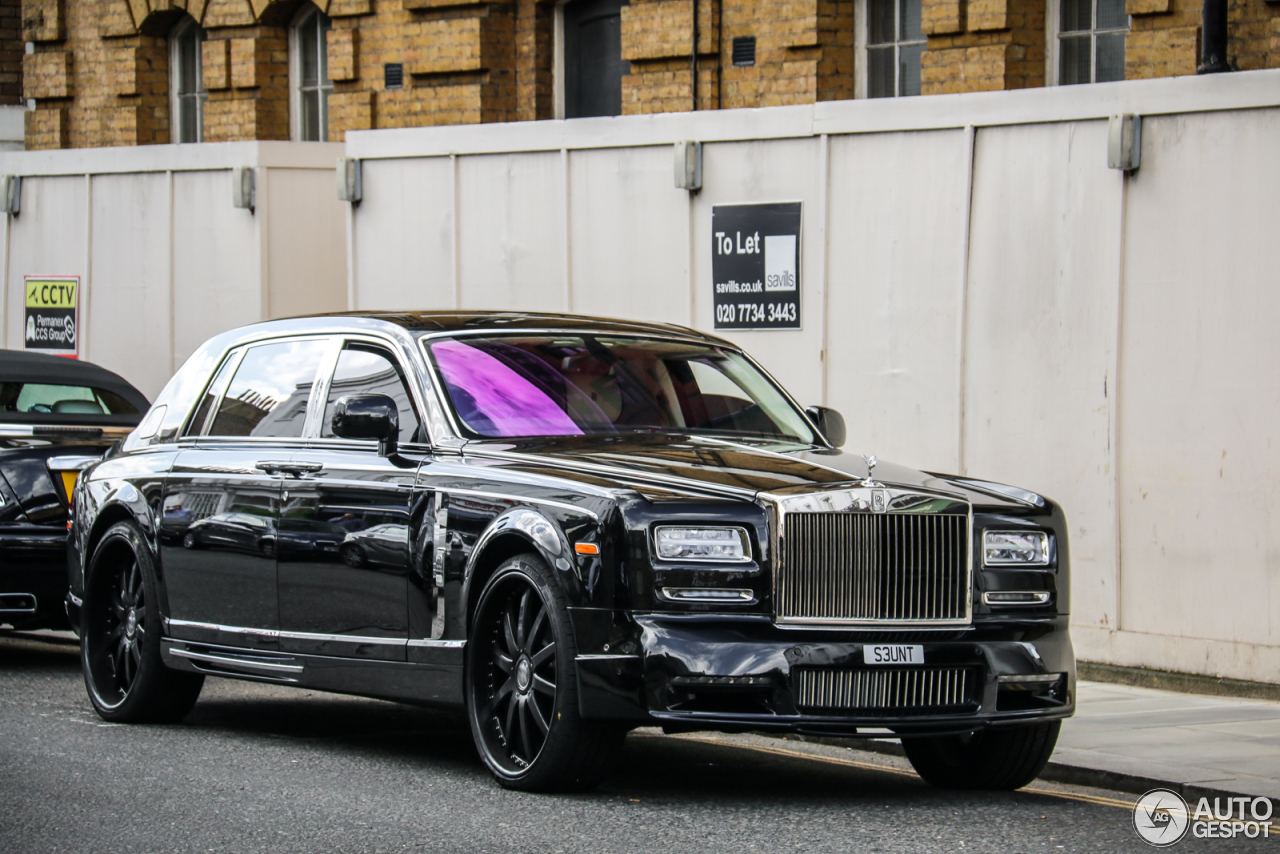 rolls royce phantom ewb series ii mansory conquistador 19 november 2016 autogespot. Black Bedroom Furniture Sets. Home Design Ideas