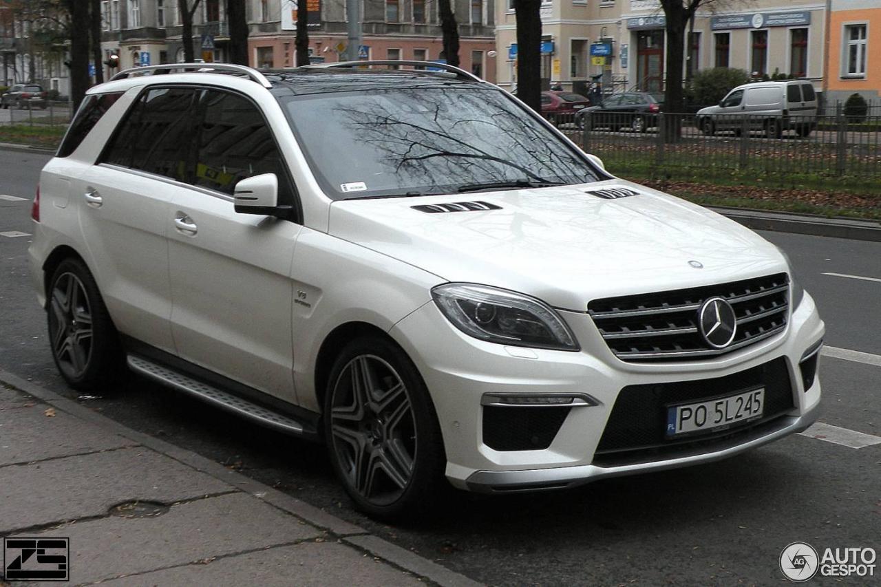 Mercedes Benz Ml 63 Amg W166 20 November 2016 Autogespot
