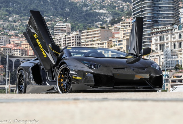 Lamborghini Aventador LP700-4 Roadster Hamann Zentenario