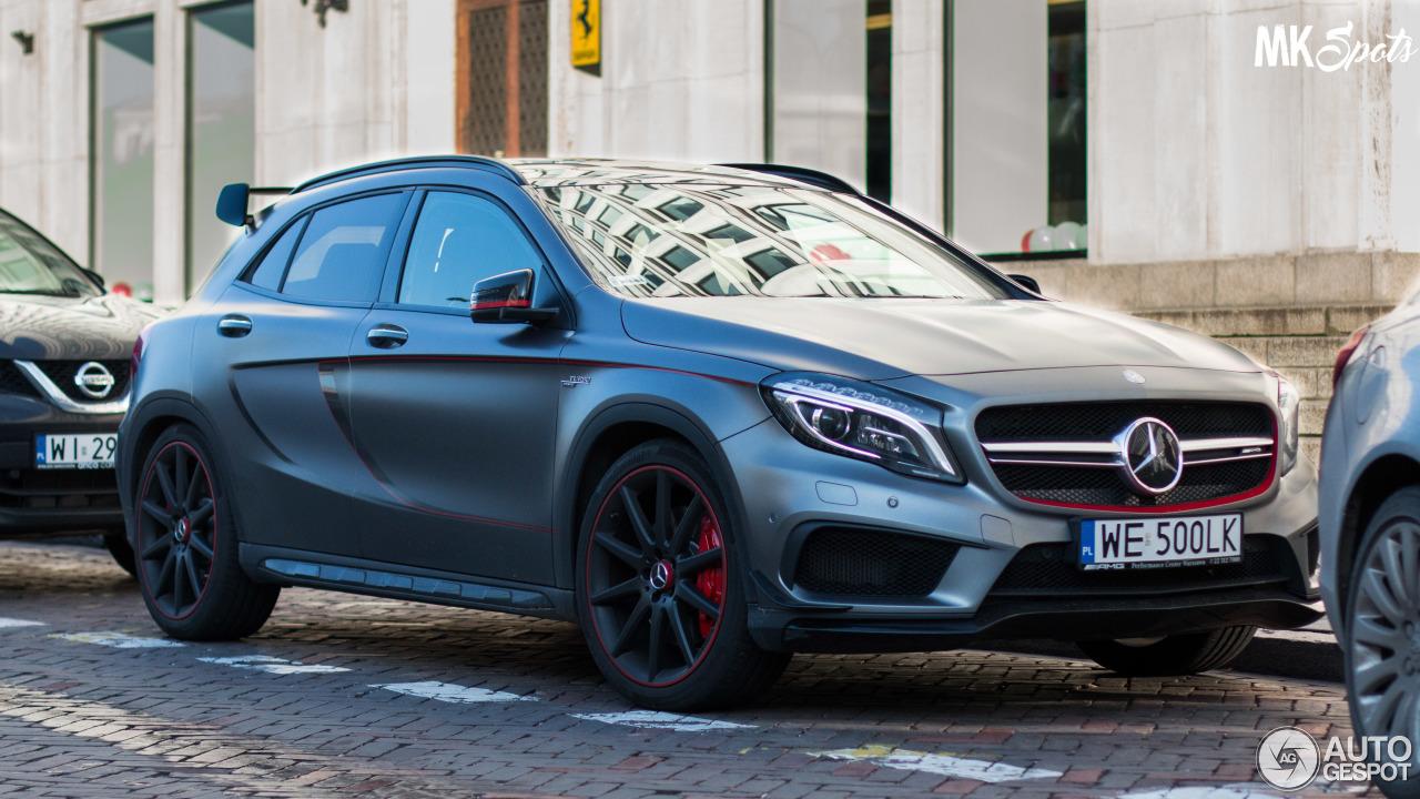 Mercedes benz gla 45 amg edition 1 21 november 2016 for 2016 mercedes benz gla