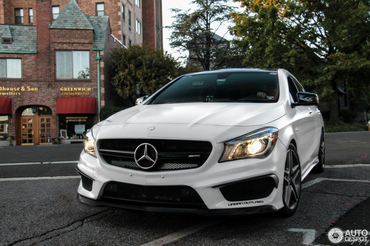 Mercedes benz cla 45 amg c117 23 november 2016 autogespot for All types of mercedes benz cars