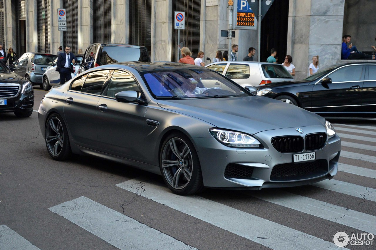 bmw m6 f06 gran coup 24 november 2016 autogespot. Black Bedroom Furniture Sets. Home Design Ideas