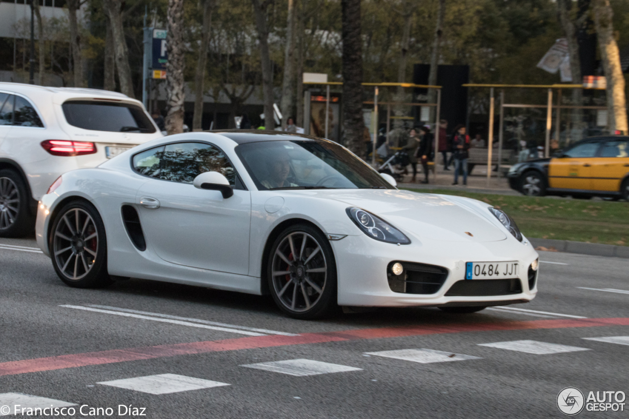 Porsche 981 Cayman S 24 November 2016 Autogespot
