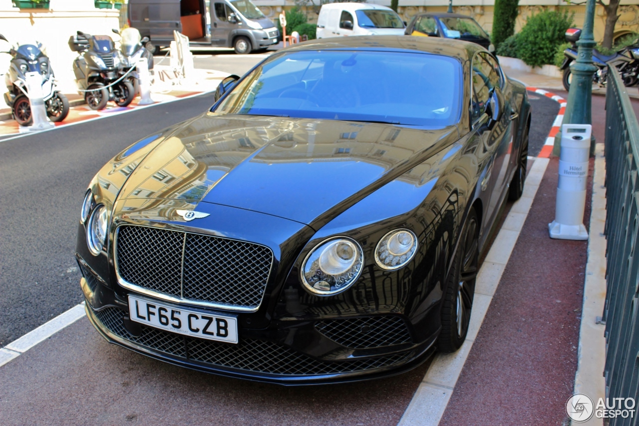bentley continental gt speed 2016 25 novembre 2016 autogespot. Black Bedroom Furniture Sets. Home Design Ideas