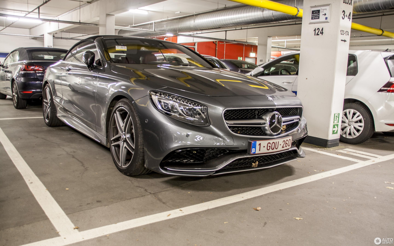 Mercedes-AMG S 63 Convertible A217 - 25 November 2016 - Autogespot