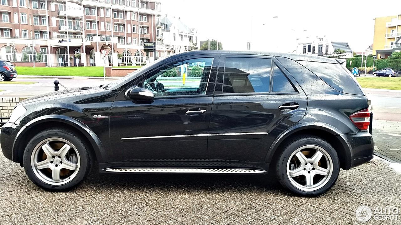 Mercedes benz ml 63 amg w164 27 november 2016 autogespot for Mercedes benz ml 63