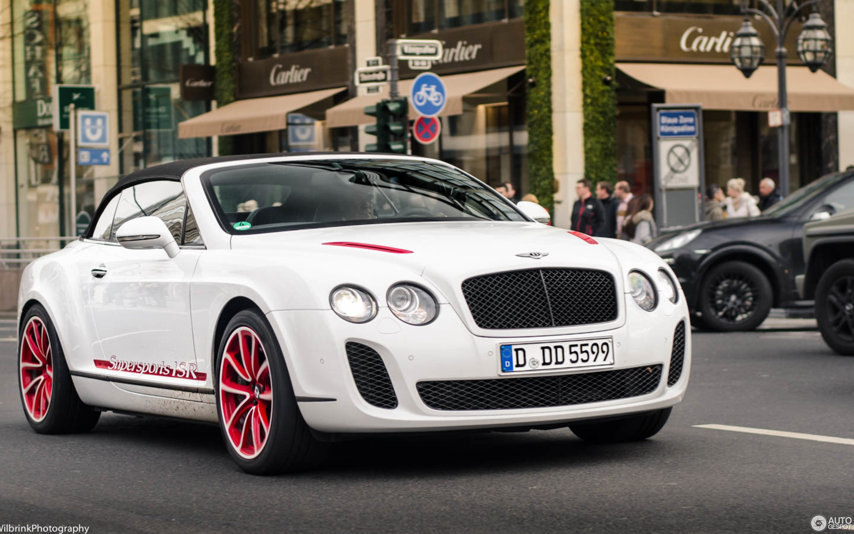 Bentley Continental Supersports Convertible ISR 29 November 2016