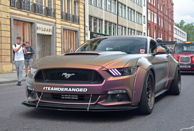 Ford Mustang GT 2015 Deranged Widebody Supercharged