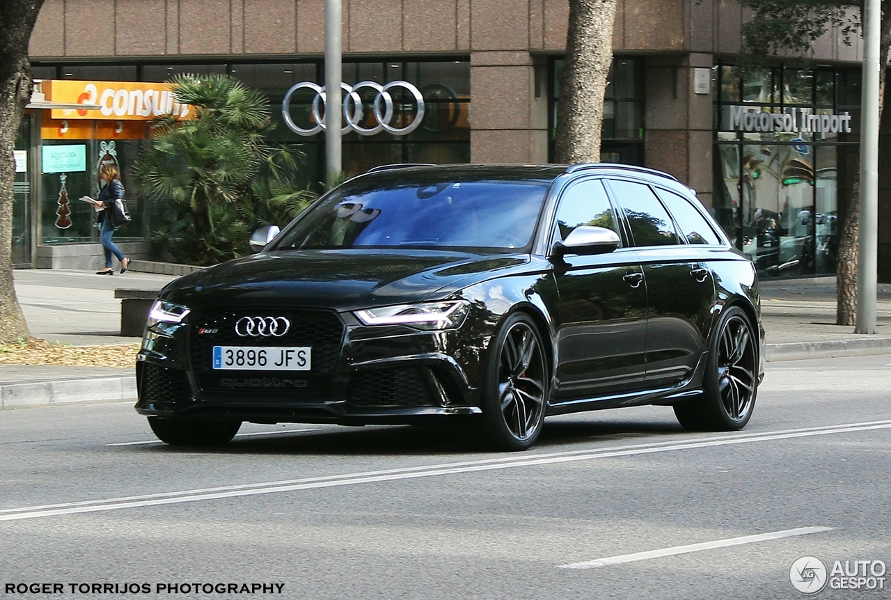 audi rs6 avant c7 2015 30 november 2016 autogespot. Black Bedroom Furniture Sets. Home Design Ideas