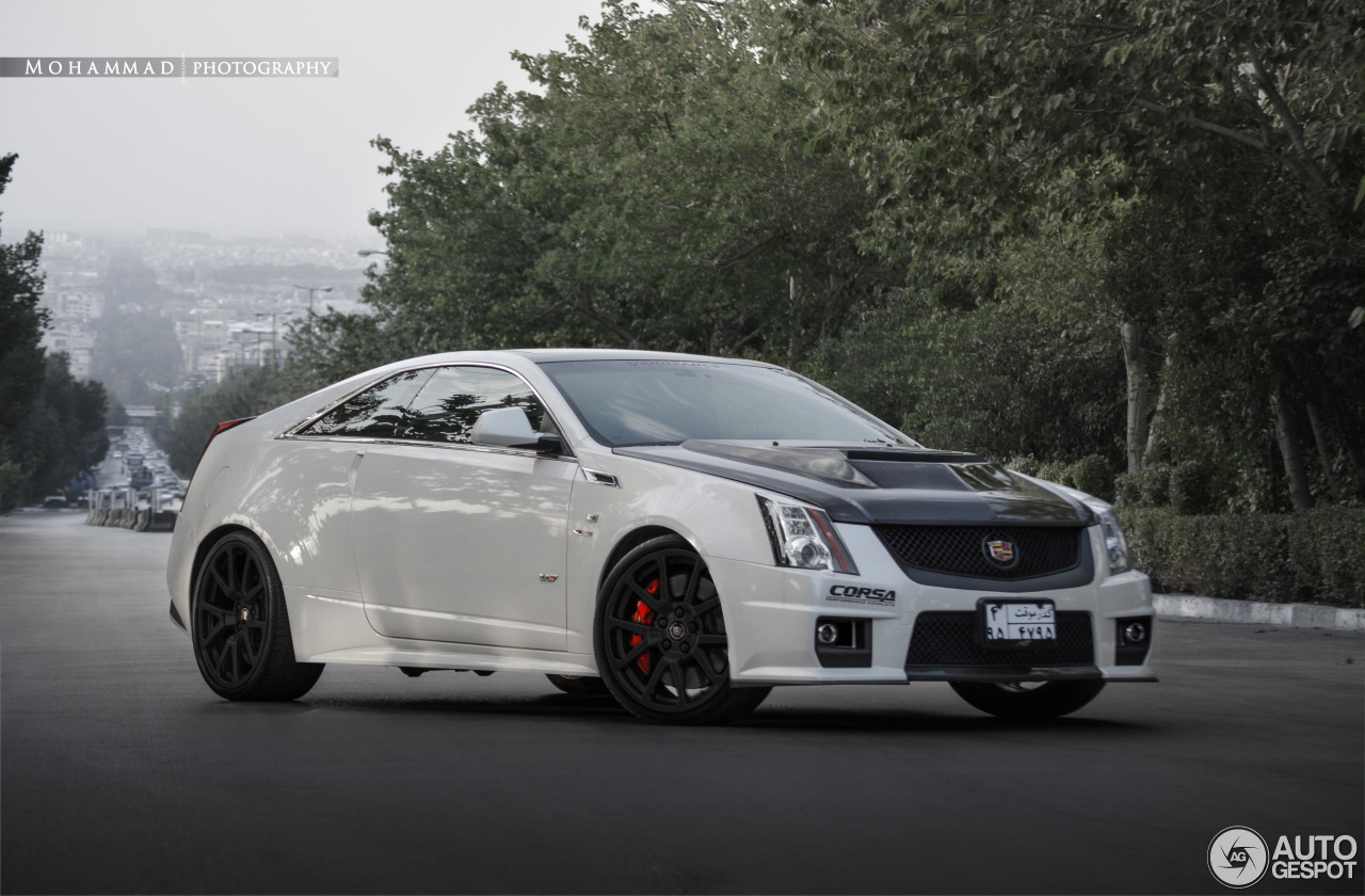 cadillac cts v coup 30 november 2016 autogespot. Black Bedroom Furniture Sets. Home Design Ideas
