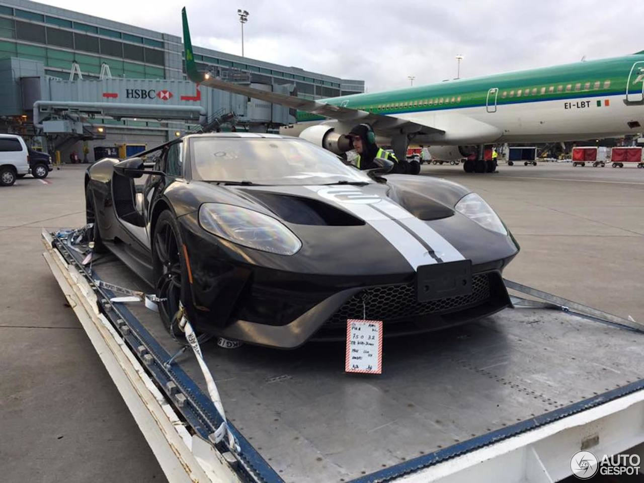 Ford Gt Heritage Edition Shadow Black