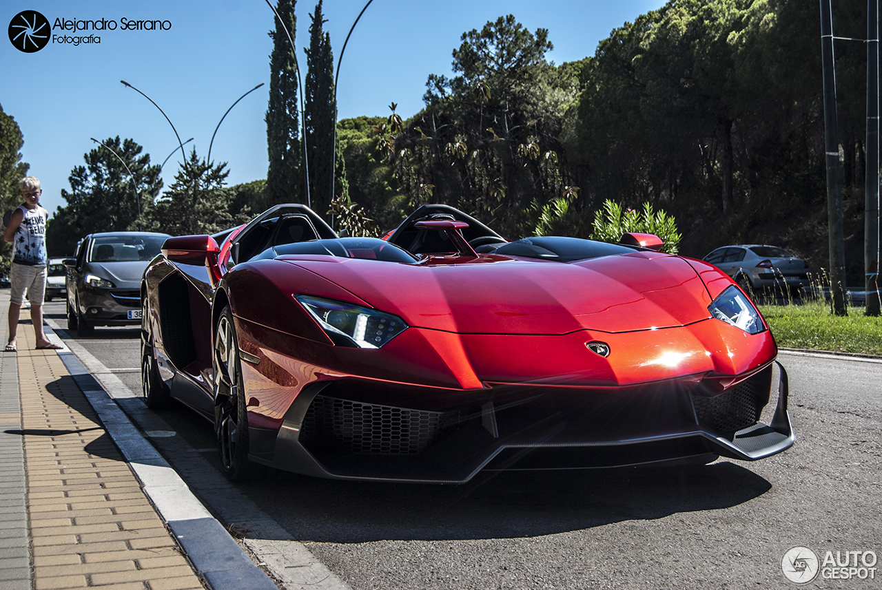 Lamborghini Aventador J 1 December 2016 Autogespot