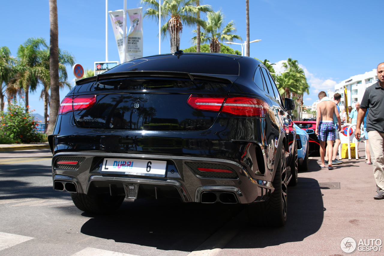 Mercedes Amg Brabus Gle Coupe B 63s 850 1 December 2016 Autogespot