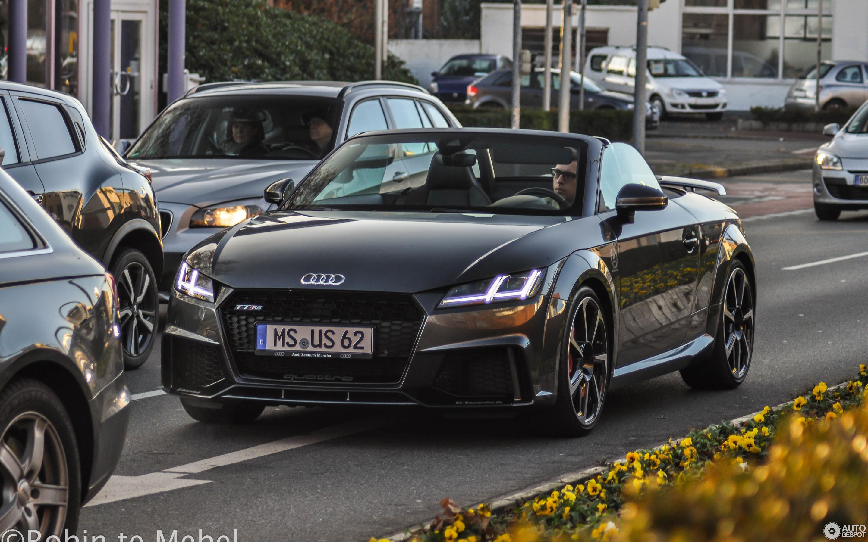 Audi Tt Rs Roadster 2017 3 December 2016 Autogespot
