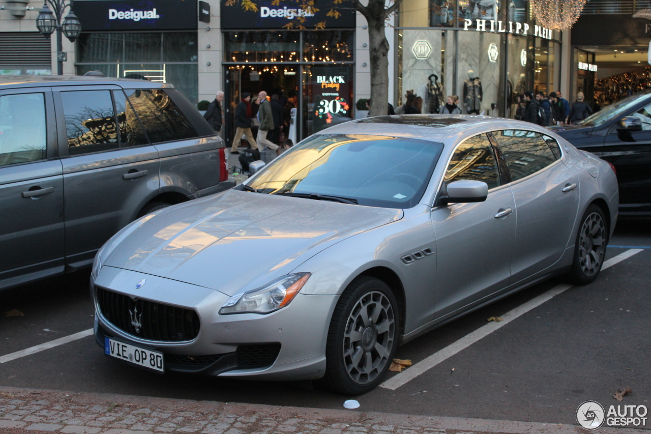 Maserati Quattroporte GTS 2013 - 4 december 2016 - Autogespot