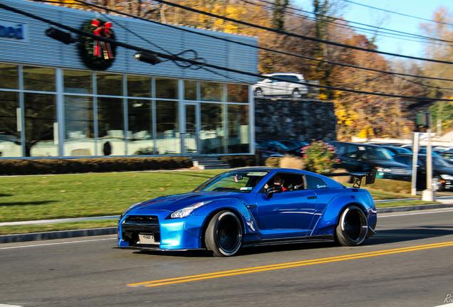 Nissan GT-R 2014 Liberty Walk Widebody