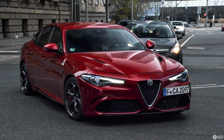 Alfa Romeo Giulia Quadrifoglio 18 децембар 2016 Autogespot