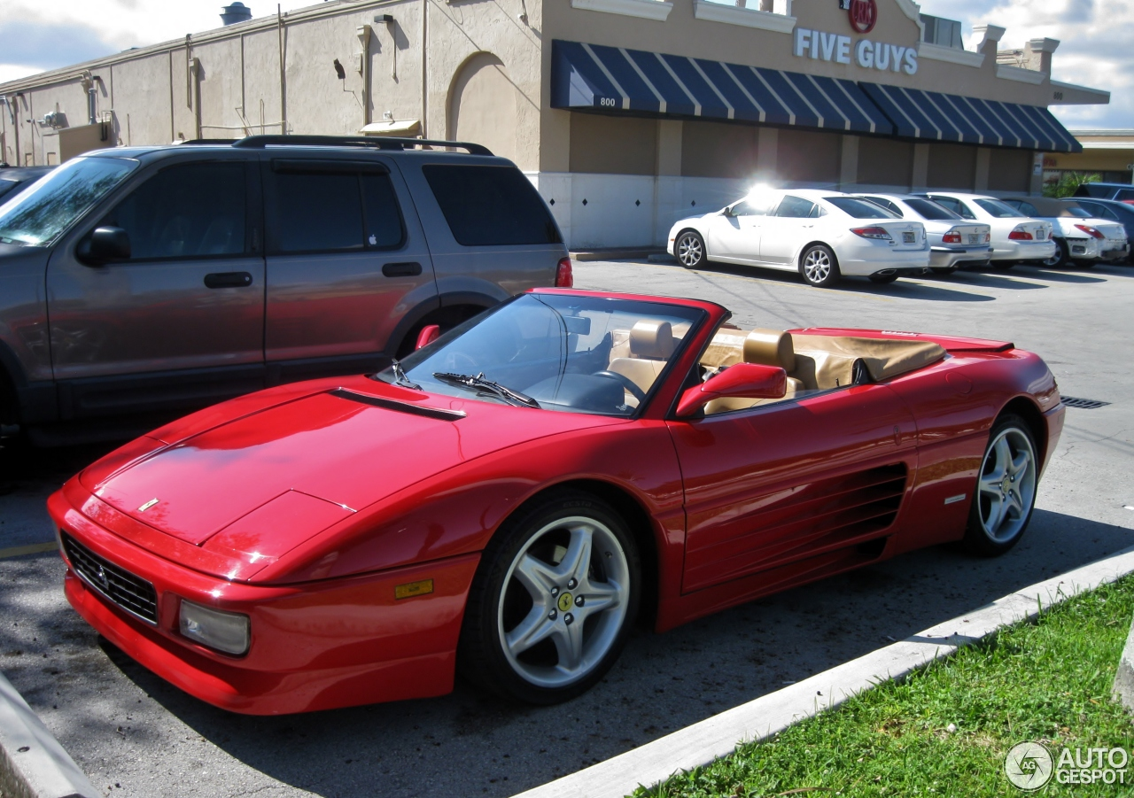 ferrari 348 spider 19 december 2016 autogespot. Black Bedroom Furniture Sets. Home Design Ideas