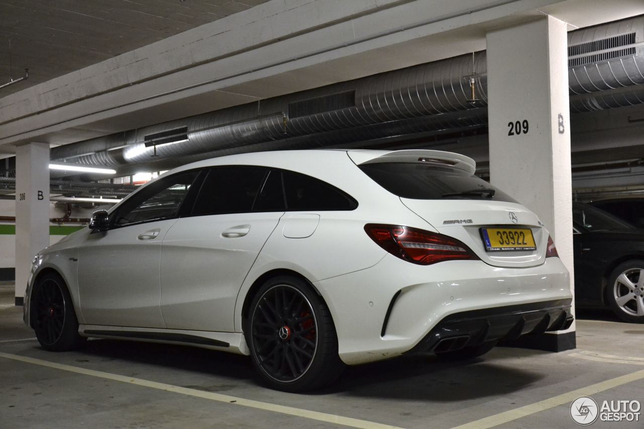 mercedes amg cla 45 shooting brake x117 2017 23 december 2016 autogespot. Black Bedroom Furniture Sets. Home Design Ideas