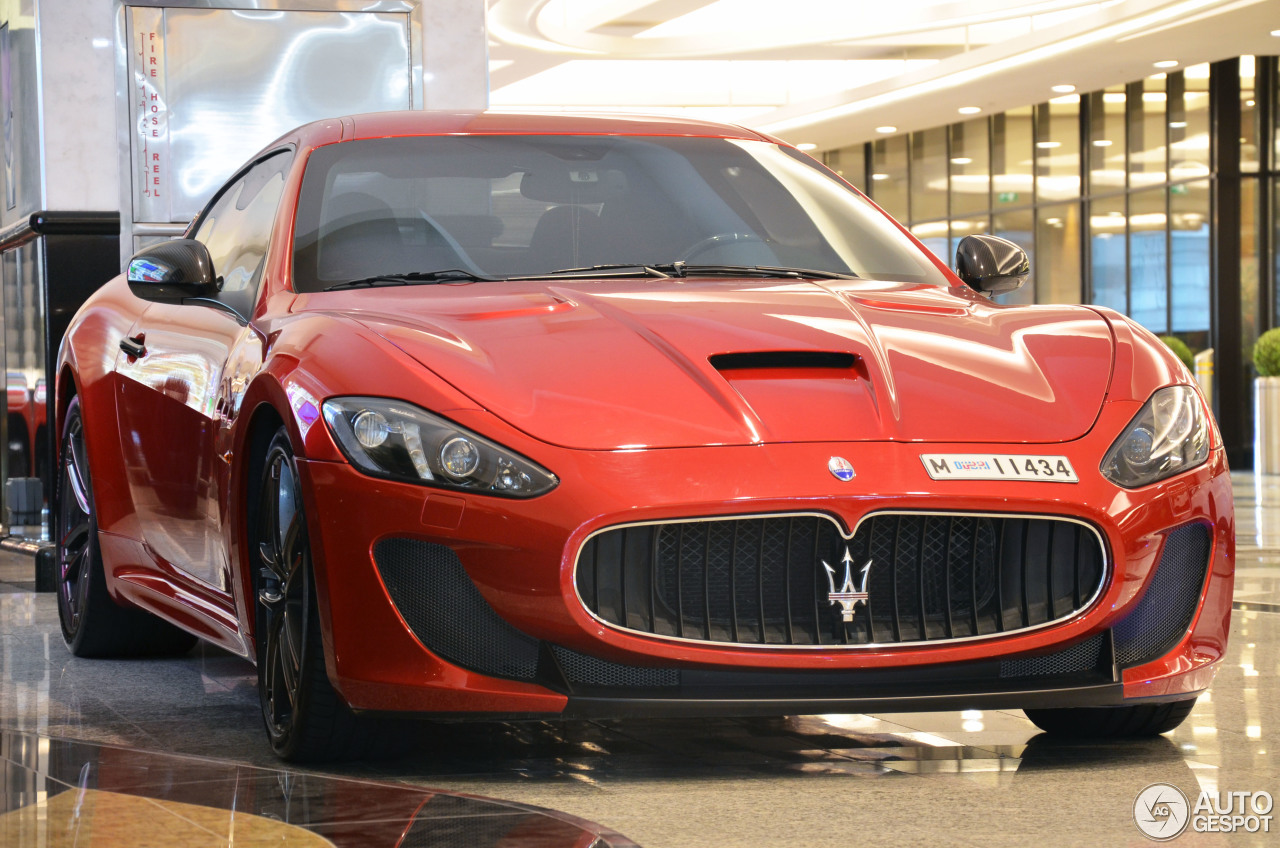 maserati granturismo mc centennial edition 24 december. Black Bedroom Furniture Sets. Home Design Ideas