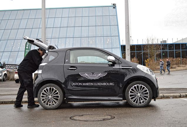 Aston Martin Cygnet Launch Edition Black