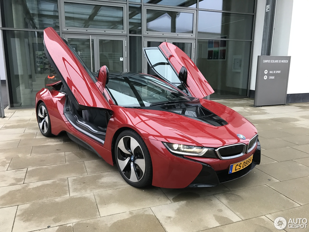 bmw i8 protonic red edition 26 december 2016 autogespot. Black Bedroom Furniture Sets. Home Design Ideas