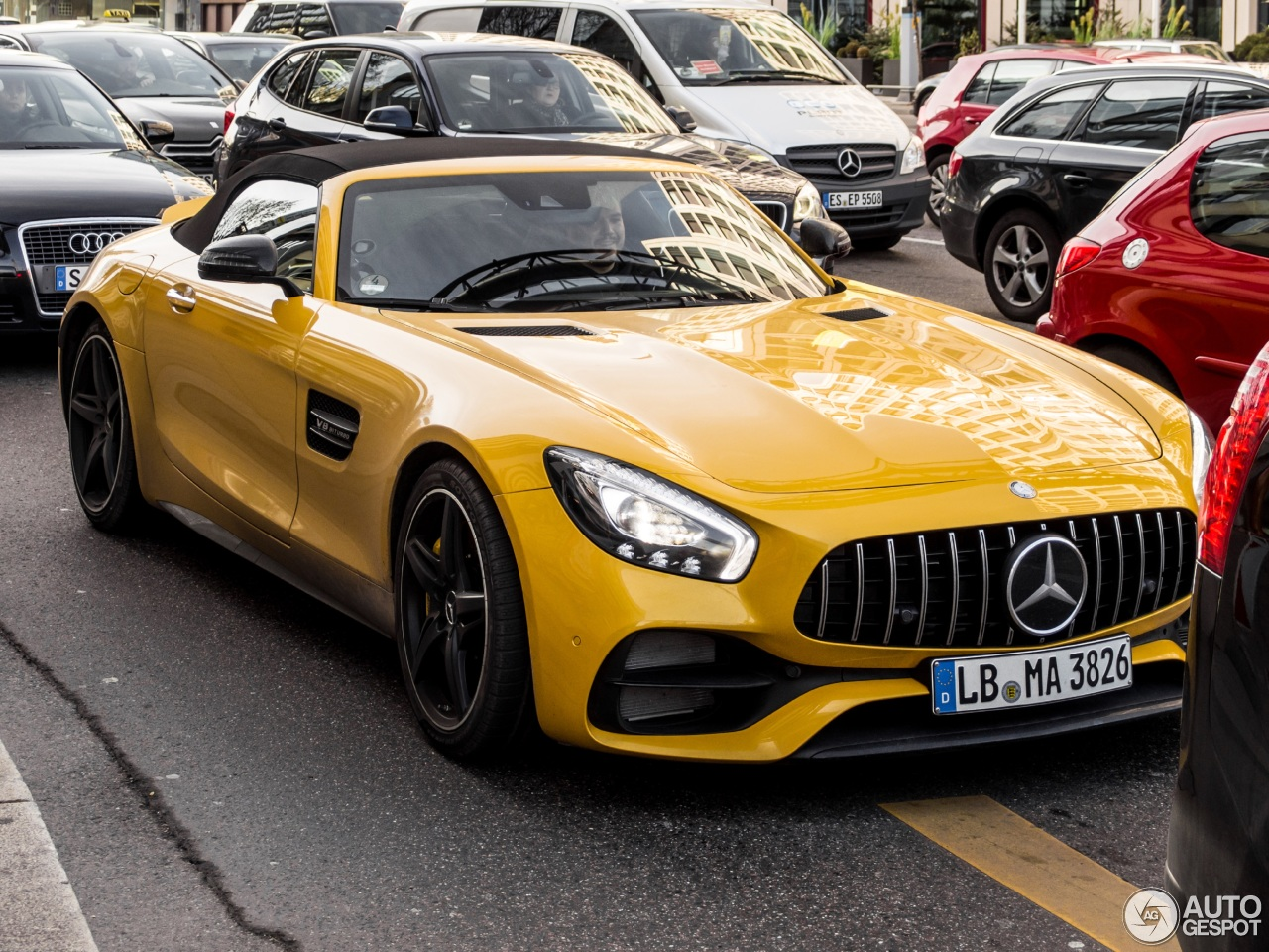 mercedes amg gt c roadster r190 28 december 2016 autogespot. Black Bedroom Furniture Sets. Home Design Ideas